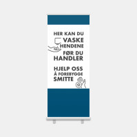 Roll-up Vask hendene her