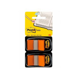 Index POST-IT dubbelpack 2x50flik orang