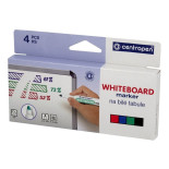 Whiteboardpenna CENTROPEN rund 4/FP