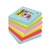 Notes POST-IT SuperSt Miami 76x76mm 6/F