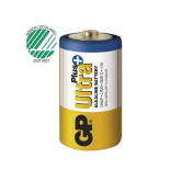 Batteri GP Ultra Plus D LR20 2/FP