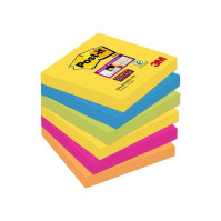 Notes POST-IT Super St Rio 76x76mm 6/FP