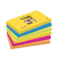Notes POST-IT SuperSticky 76x127mm 6/PK