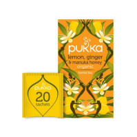 Te PUKKA Lem Ginger Manuka Honey 20/FP