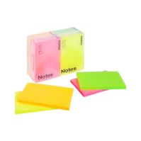 Notes STAPLES 76x127mm neon