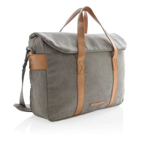Kanvas laptop bag, PVC-fri
