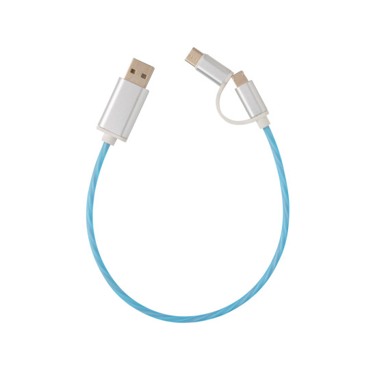 3-i-1 flowing light-kabel