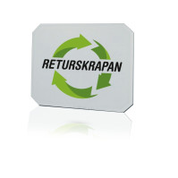 Returskrapen 120x100 mm / Isskrape