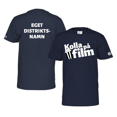 T-shirt Barn - Film m tillval distrikt