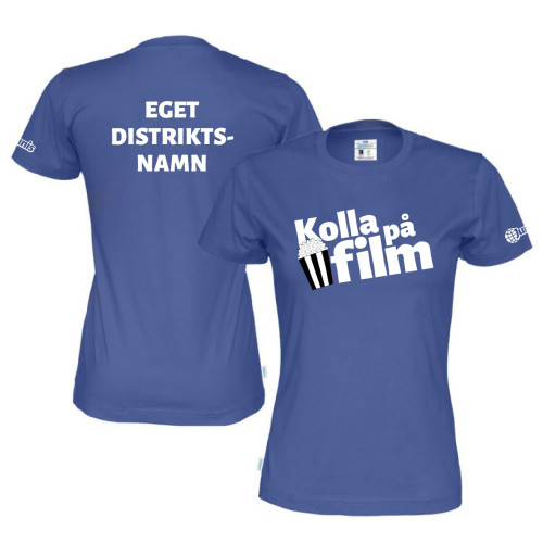 T-shirt Dam - Film m tillval distrikt