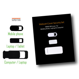 Webcam Cover Security Set
