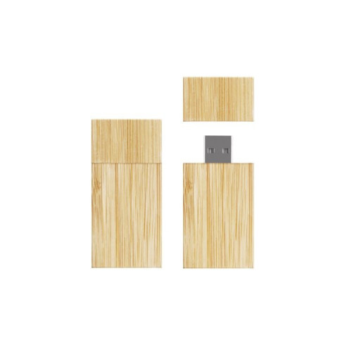 Bamboo square USB