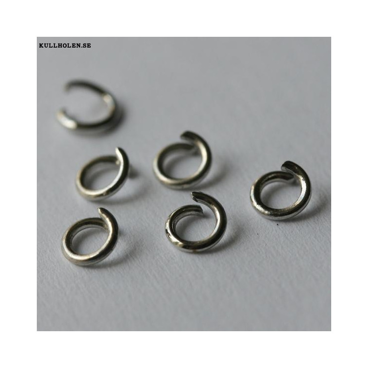 Öppen ring 4x0.8mm (10-pack)