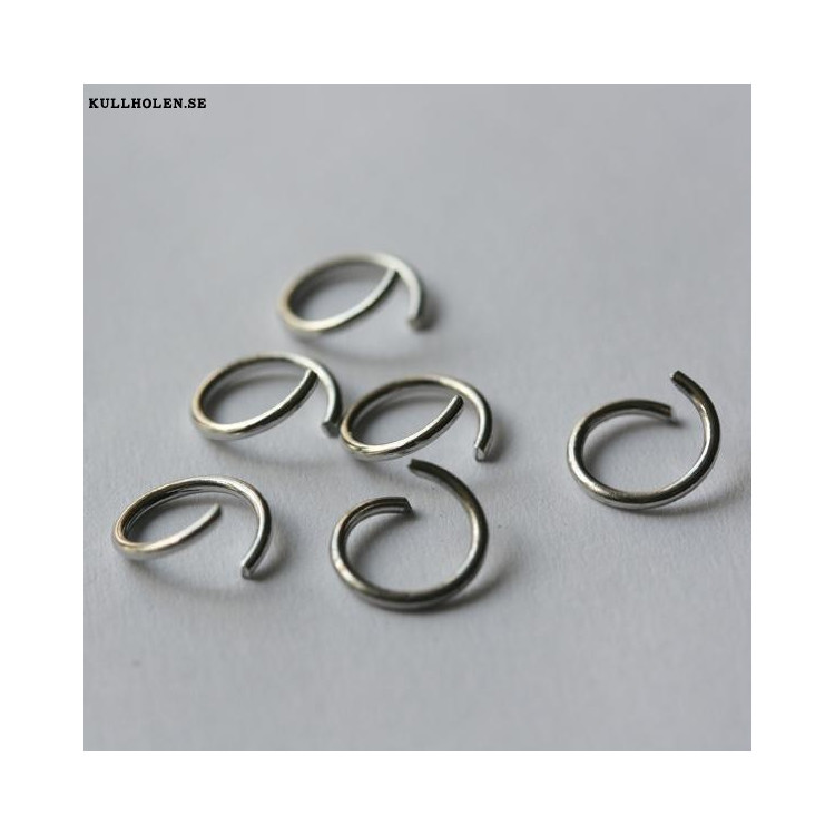 Öppen ring 8x1.0mm (10-pack)