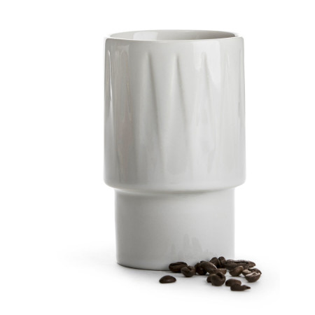 COFFEE & MORE, Lattemugg vit