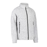 Quiltad fleece herrjacka