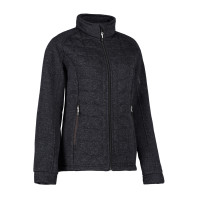 Quiltad fleece damjacka