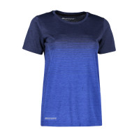 Woman seamless s/s T-shirt | striped