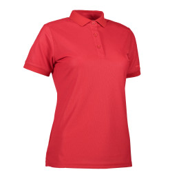 Woman functional polo shirt