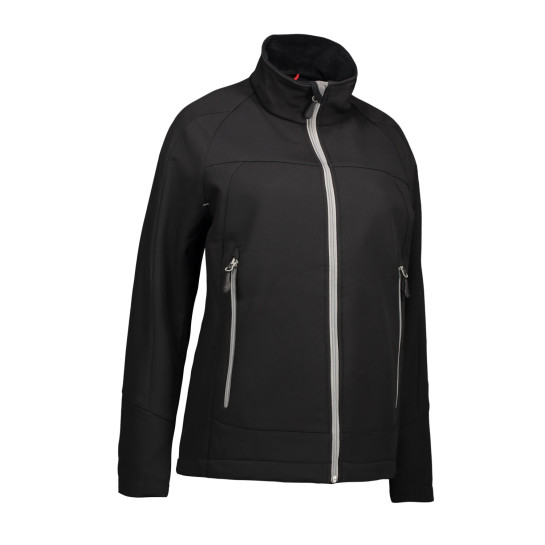 Funktionell soft shell damjacka