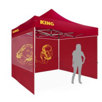 Quicktent Eco Allover print, 3X3m