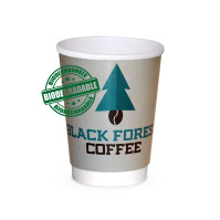 Paper cup, Hot Cup biologisk nedbrytbar