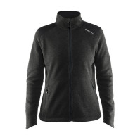 Noble Zip Jacket Heavy Knit fleece W