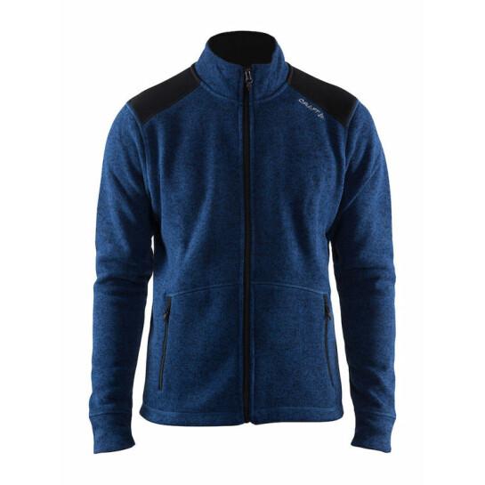 Craft Noble Zip Jacket Heavy Knit Fleece Women Jackor