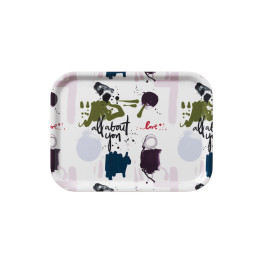 Kosta boda All about you breakfast tray aay 270mm