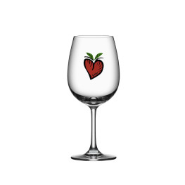 Kosta boda Friendship wine hearts 50 cl