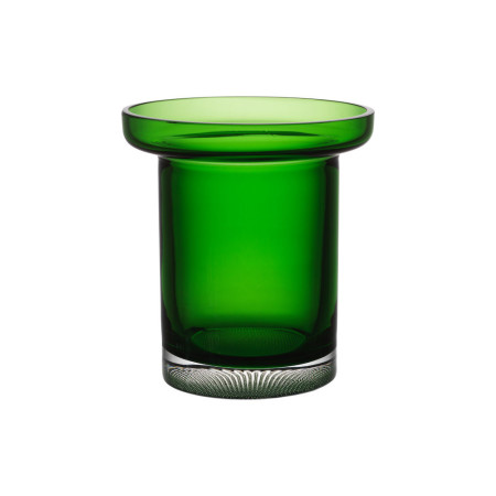 Kosta boda Limelight tulip vase apple green  h 195mm