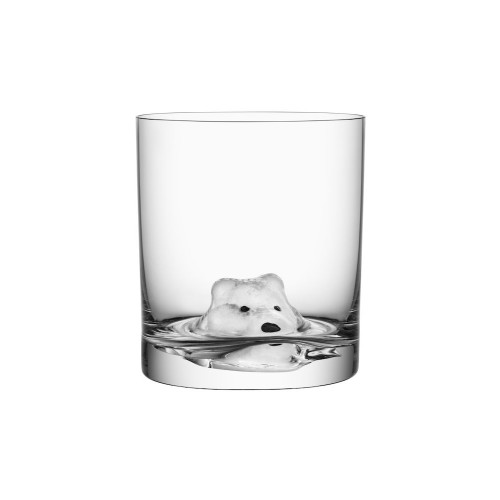 Kosta boda New friends tumbler arctic fox 46 cl