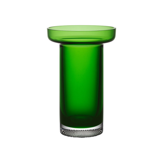 Kosta boda Limelight rose vase apple green h 230mm