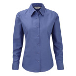 Russell Ladies Oxford Blouse LS