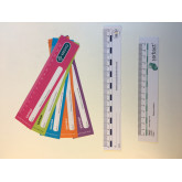 Linjal i papper / Paperruler for measuring hard-healed wounds