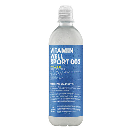 Vitamin Well SPORT 002 Sockerfri