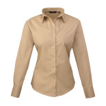 Women´s Poplin Long Sleeve Blouse