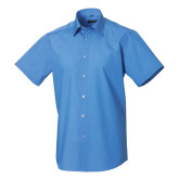 Men´s SS Polycotton Easy Care Tailored Poplin Shir