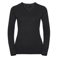 Ladies Vneck Pullover