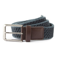 Mens Vintage Wash Canvas Belt