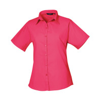 Women´s Poplin Short Sleeve Blouse