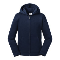 Kids Authentic Zipped Hood Sweat