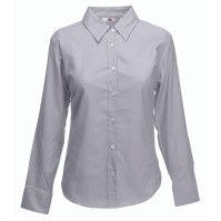 Lady-Fit Long Sleeve Oxford Shirt