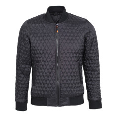 Tee Jays Mens Crossover Hooded Padded Outdoor Jacket at