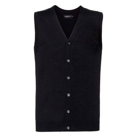 Men´s V-neck Sleeveless Cardigan