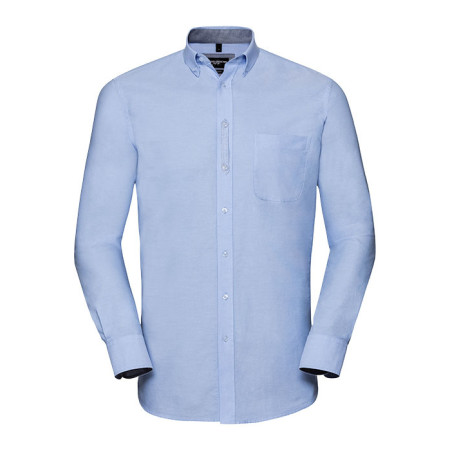 Men´s LS Tailored Washed Oxford Shirt