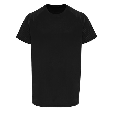 Mens TriDri ® Embossed Sleeve T shirt