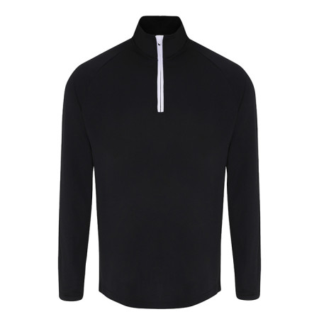 Mens TriDri® long Sleeve Performance 1/4 Zip