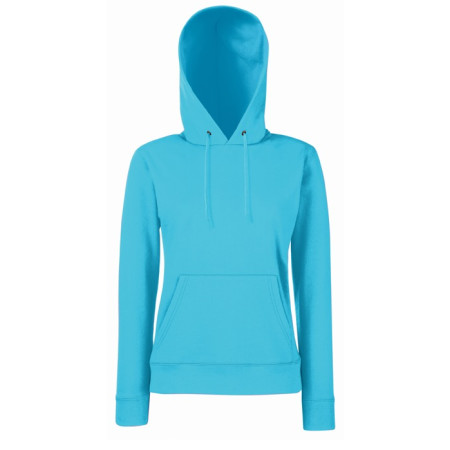 Ladies Lightweight Hooded Sweat