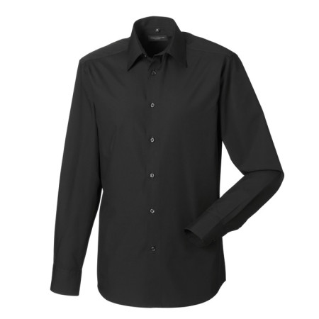Men´s LS Polycotton Easy Care Tailored Poplin Shir